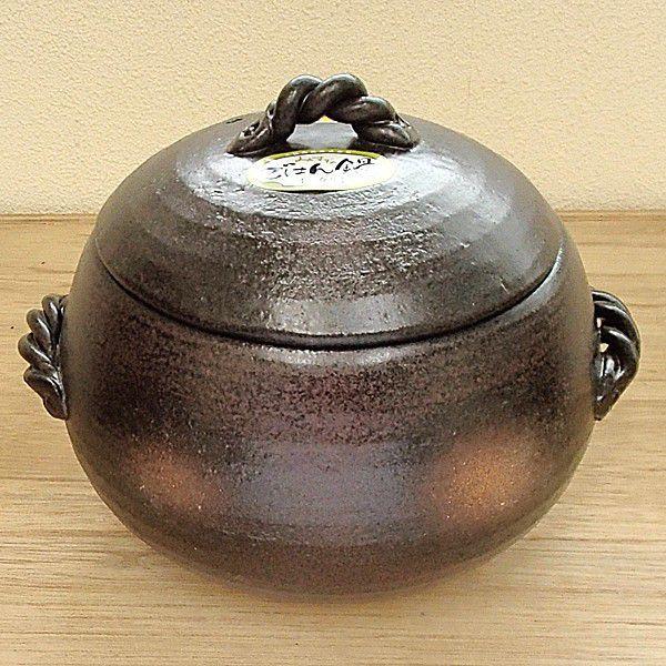炊飯土鍋 ご飯鍋 3合炊 万古焼|shikisaionline