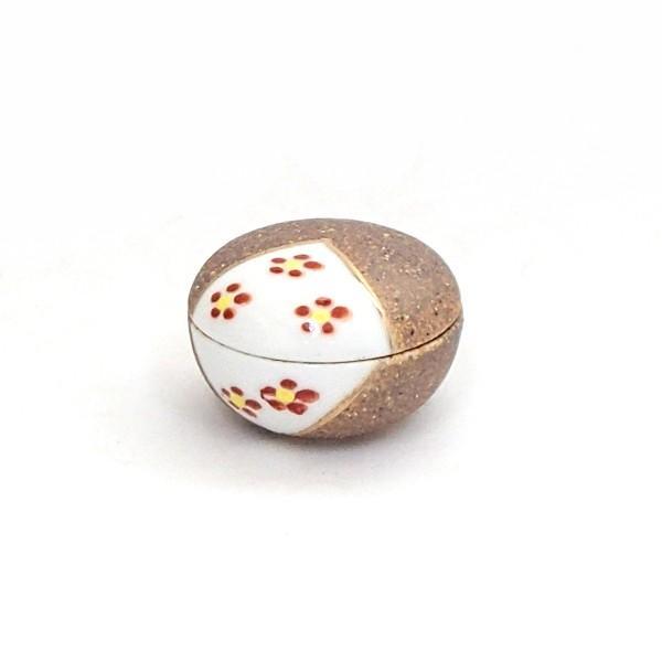 小鉢 蓋付珍味 南蛮梅花紋 おしゃれ 和食器 業務用 美濃焼 9b100-26