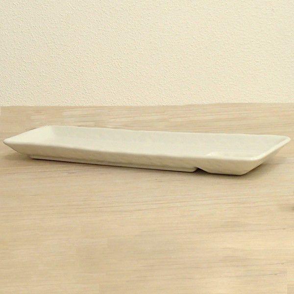 仕切皿 11.0仕切り付長皿 さんま皿 白釉  33.5cm 和食器 業務用 美濃焼 8y230-09-674|shikisaionline|02
