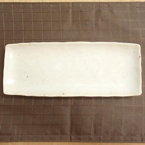 長皿 さんま皿 焼き物皿 魚皿 小倉粉引 27cm 焼き魚 5枚セット 和食器|shikisaionline|03