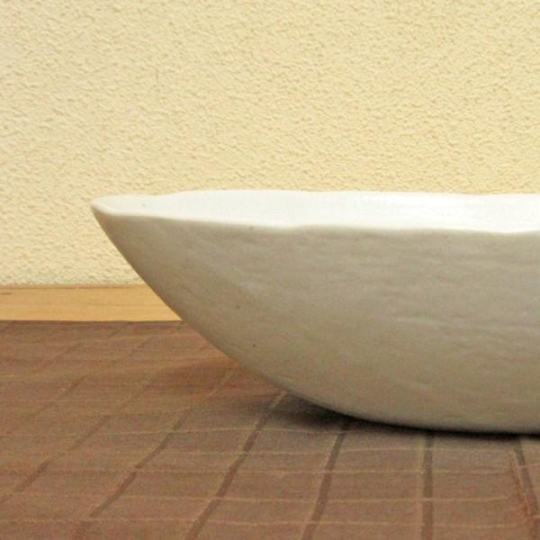 カレー皿 和食器 深め オーバル 22.5cm 和食器 灰マット砂目 楕円鉢 おしゃれ 業務用 カレーボウル|shikisaionline|07