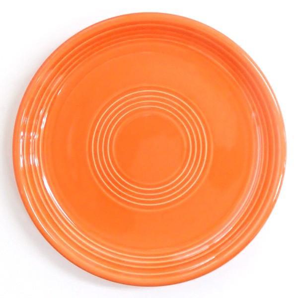 中皿 丸皿 23cmミート皿 オレンジ オービット パスタ皿 おしゃれ 洋食器 業務用 美濃焼 k12650004|shikisaionline