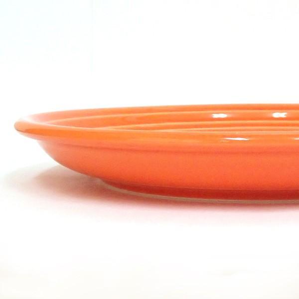 中皿 丸皿 23cmミート皿 オレンジ オービット パスタ皿 おしゃれ 洋食器 業務用 美濃焼 k12650004|shikisaionline|03