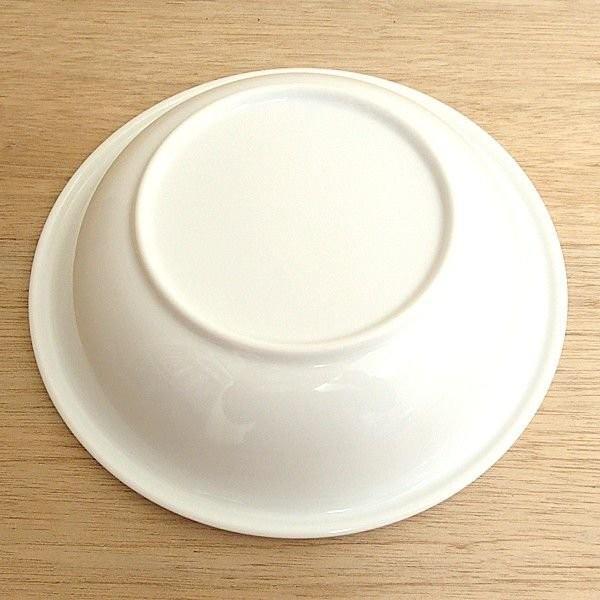 スープボウル パスタ皿 24cm深皿 白 ブリオ おしゃれ 洋食器 業務用 美濃焼 k12800015 shikisaionline 03