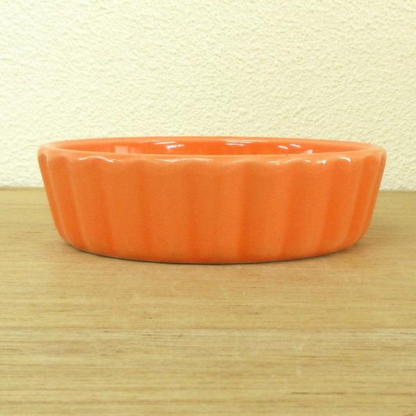 アヒージョ カスエラ タパス皿 直火対応 11cm オレンジ 業務用 日本製 k13751097|shikisaionline|02