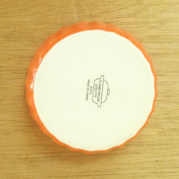 アヒージョ カスエラ タパス皿 直火対応 11cm オレンジ 業務用 日本製 k13751097|shikisaionline|04