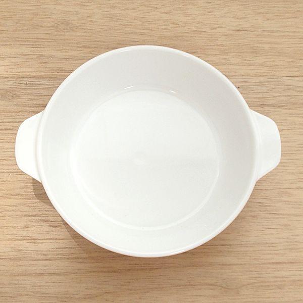 グラタン皿 スタック 丸型 19cm オレンジ 強化磁器 おしゃれ 業務用 美濃焼|shikisaionline|02