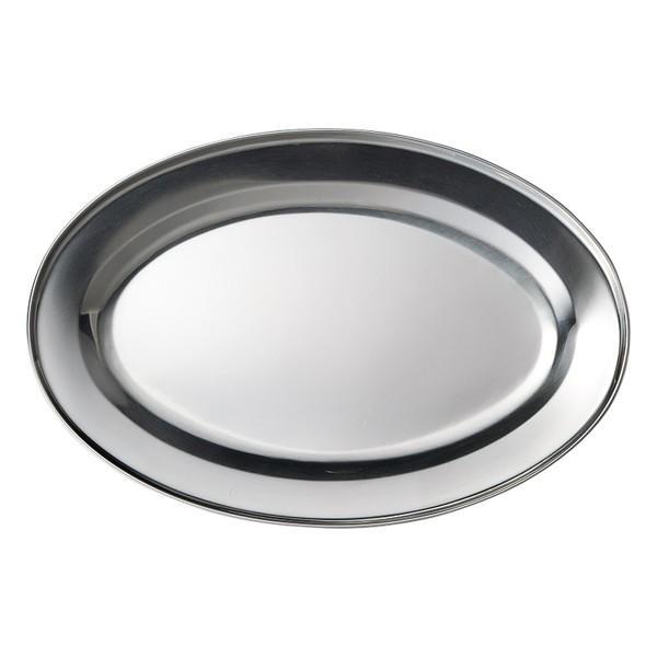 ステンレス製 楕円皿 25cmオーバルプラター 業務用|shikisaionline