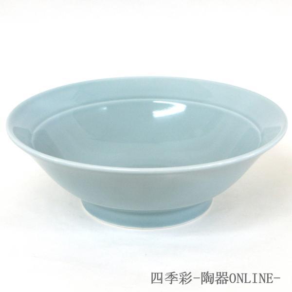 丼 ラーメン丼 丼ぶり 7.5リム丼 23cm 青磁 青...