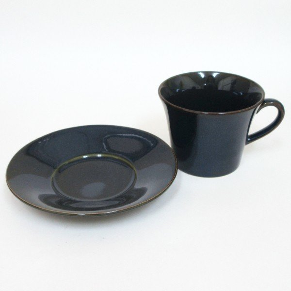 コーヒーカップ ソーサー 5客セット 窯変ネイビー 北欧ブルー 和陶器 おしゃれ 業務用 美濃焼|shikisaionline|02