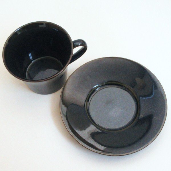 コーヒーカップ ソーサー 5客セット 窯変ネイビー 北欧ブルー 和陶器 おしゃれ 業務用 美濃焼|shikisaionline|03