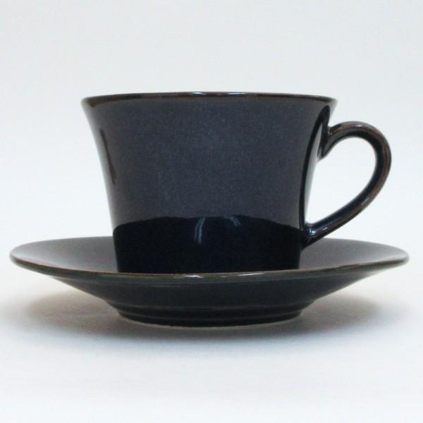 コーヒーカップ ソーサー 5客セット 窯変ネイビー 北欧ブルー 和陶器 おしゃれ 業務用 美濃焼|shikisaionline|05