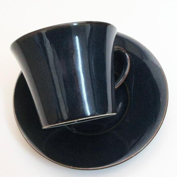 コーヒーカップ ソーサー 5客セット 窯変ネイビー 北欧ブルー 和陶器 おしゃれ 業務用 美濃焼|shikisaionline|06
