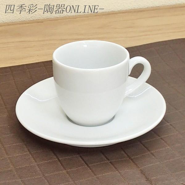 コーヒーカップソーサー ホテル ベーシック 白 業務用 日本製 美濃焼|shikisaionline