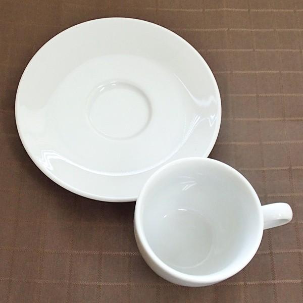 コーヒーカップソーサー ホテル ベーシック 白 業務用 日本製 美濃焼|shikisaionline|02