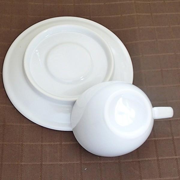 コーヒーカップソーサー ホテル ベーシック 白 業務用 日本製 美濃焼|shikisaionline|03