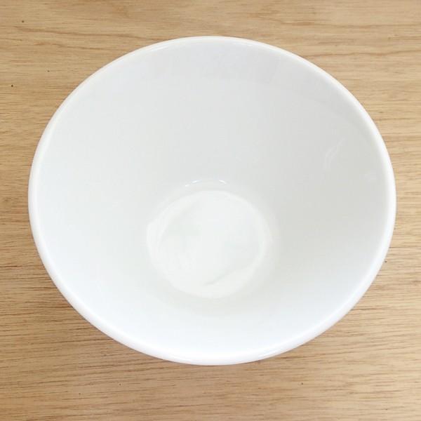 白いラーメン丼 19cm深ボウル ルミナ 業務用 美濃焼 |shikisaionline|02