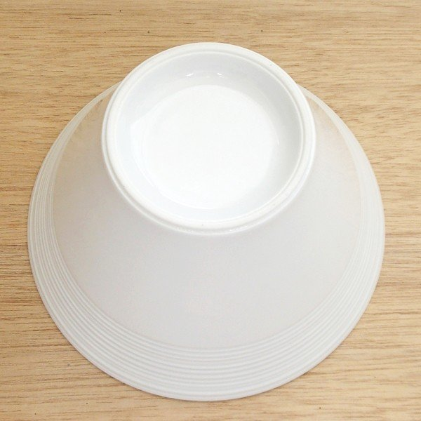 白いラーメン丼 19cm深ボウル ルミナ 業務用 美濃焼 |shikisaionline|03