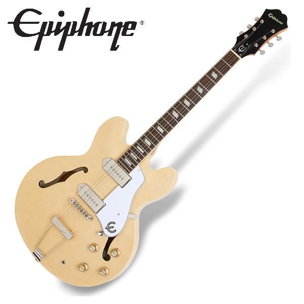 Epiphone エピフォン カジノ Casino Natural フルアコ エレキギター