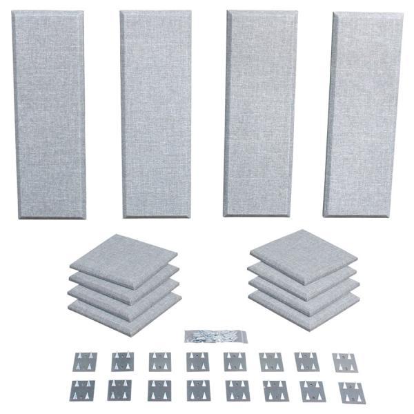 Primacoustic プライマコースティック LONDON 8 (グレー) 吸音パネルセット [約4.9畳]対応 London Room Kit[大型商品につきキャンセル不可]