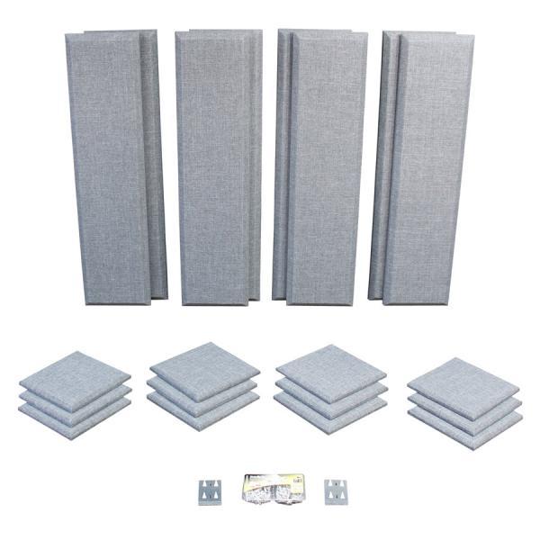 Primacoustic プライマコースティック LONDON 10 (グレー) 吸音パネルセット [約6.5畳]対応 London Room Kit[大型商品につきキャンセル不可]