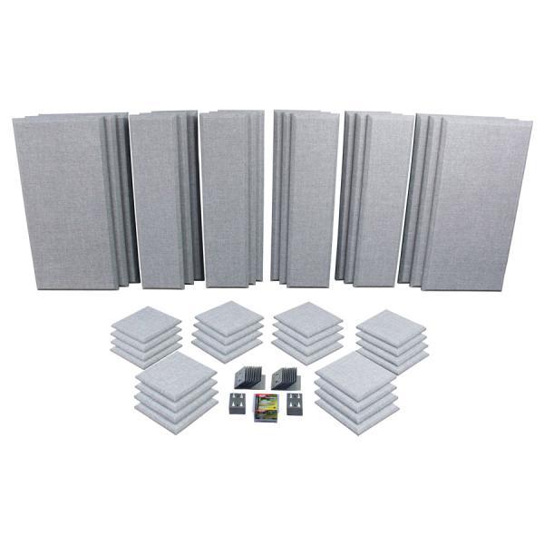 Primacoustic プライマコースティック LONDON 16 (グレー) 吸音パネルセット [約10.9畳]対応 London Room Kit[大型商品につきキャンセル不可]
