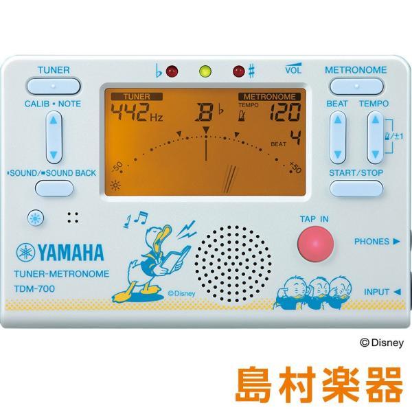 YAMAHA ヤマハ TDM-700 チューナー メトロノーム 〔ディズニー〕 〔ドナルドダック〕 TDM700〔数量限定品〕