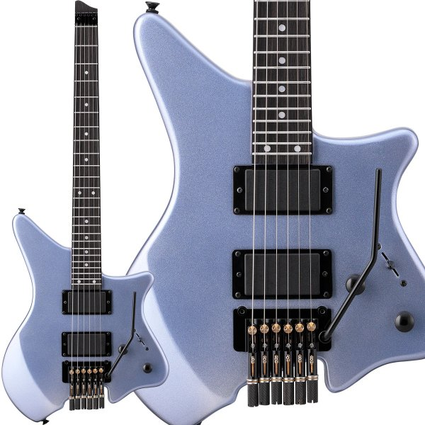 LaidBack レイドバック LEG-HL Ice Blue エレキギター ヘッドレス