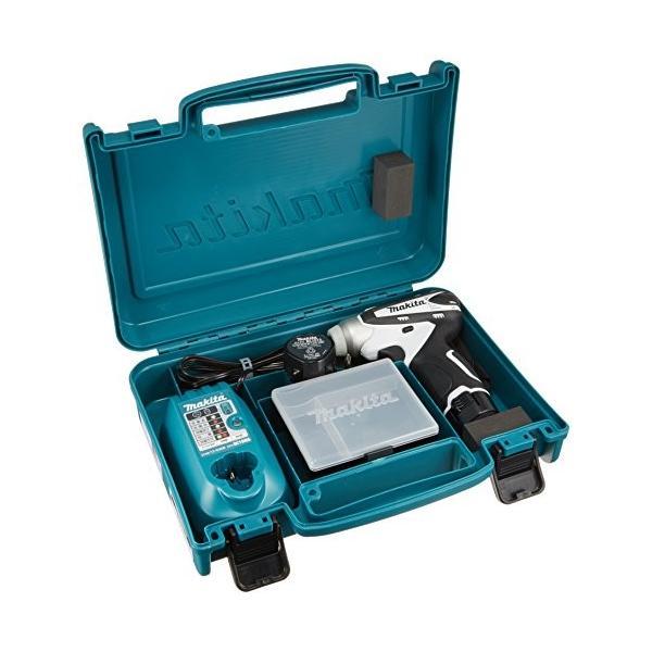 マキタ(Makita)  充電式インパクトドライバ 10.8V 1.3Ah 白 バッテリー2個付き TD090DWXW|shimarisu-shop|03