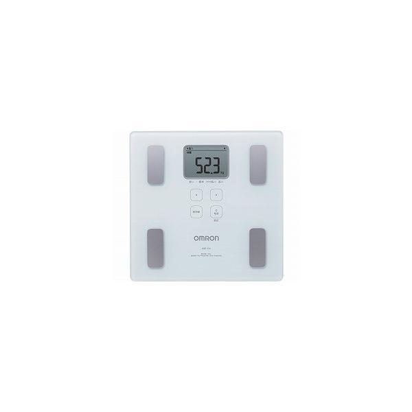 体重体組成計 カラダスキャン ホワイト (HBF-214-W) (オムロンヘルスケア)(体重計・体組成計)