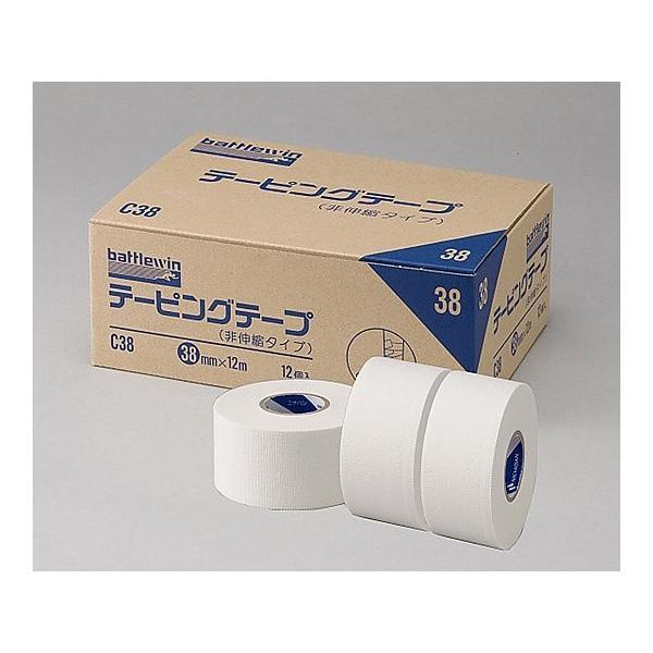 テーピングテープ[非伸縮] C-50(12巻入) (ニチバン)