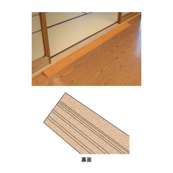 安寿 段差スロープEVA #30(幅100×奥行12×高さ3cm) 535-613 (アロン化成) (段差スロープ)|shimayamedical|02