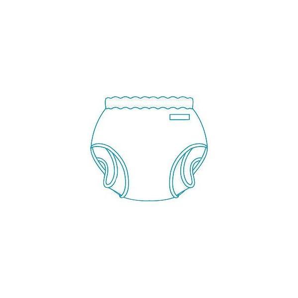 パンツ型おむつカバー M 18-11002 (モナーテメディカル) (オムツカバー)