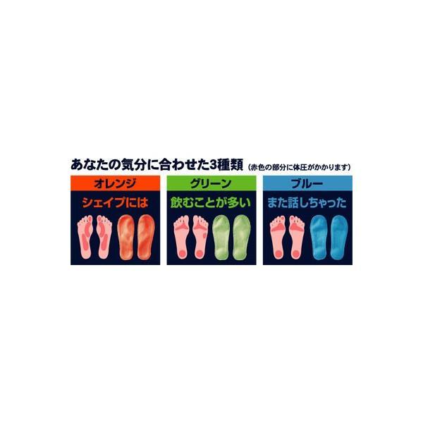 メンズ ガチ押し健康ルームサンダル ふみっぱ オレンジ AP-507901 (アルファックス) (シューズ)|shimayamedical|02