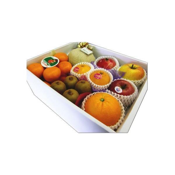 ギフト フルーツ 果物 詰め合わせ ご贈答 御祝 御礼 お見舞 お供え   送料無料 静岡温室マスクメロン 1.2kg入 フルーツ詰め合わせB