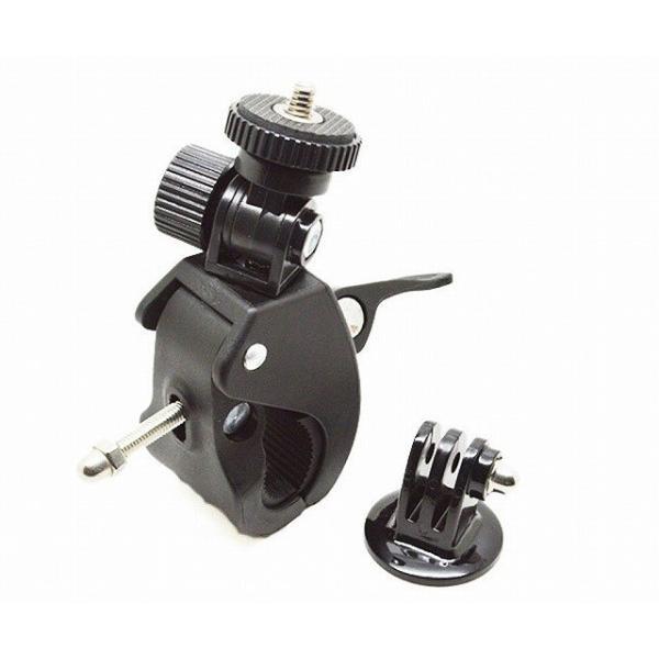 カメラホルダー カメラマウント カメラスタンド オートバイ・バイク・自転車 ハンドルに カメラ/ GoPro/デジカメ/ドライブレコーダー を 固定|shimi-store