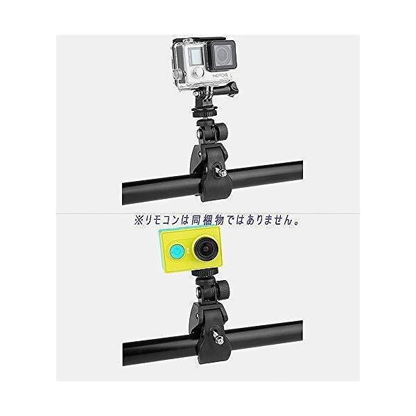 カメラホルダー カメラマウント カメラスタンド オートバイ・バイク・自転車 ハンドルに カメラ/ GoPro/デジカメ/ドライブレコーダー を 固定|shimi-store|02