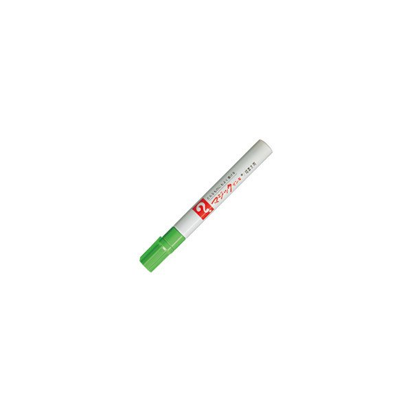 寺西化学工業 マジックインキ M500−T9 細書 黄緑 ●10パックセット