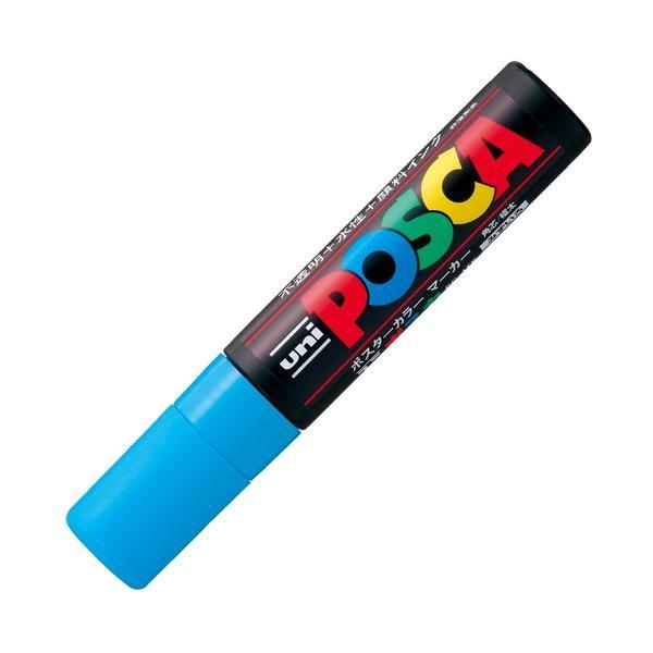 三菱鉛筆 ポスカ PC−17K.8 極太 水 ●10パックセット