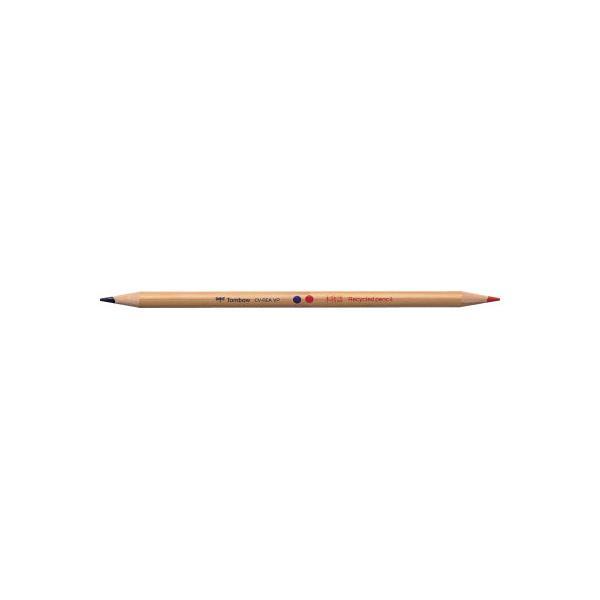 トンボ鉛筆 赤青鉛筆 木物語 朱・藍 1ダース CV−REAVP