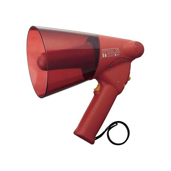 TOA ハンド型メガホン 約680g レッド サイレン音付 ER−1106S ◆代引不可 ●10パックセット