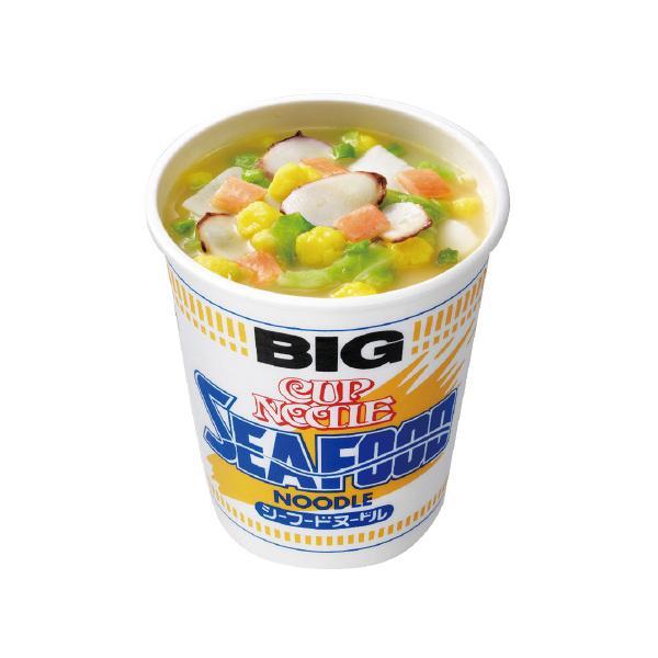 日清食品 日清 カップヌードル シーフードビッグ 12個 BCH ◆代引不可 ●10パックセット
