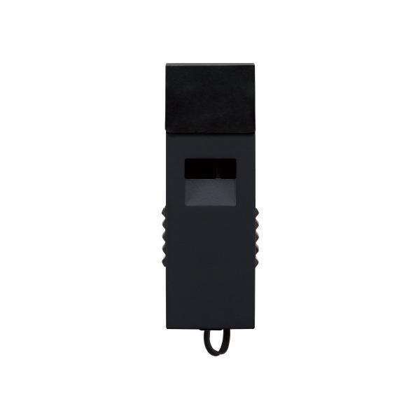 コクヨ 防災用救助笛 ツインウェーブ 黒 外寸法W52×D19×H16 DRK−WS1ND
