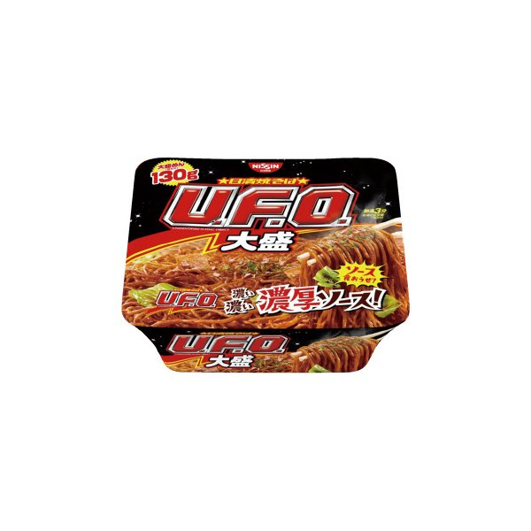 日清食品 日清焼そばU.F.O. ビッグ 12個 244302 ◆代引不可 ●10パックセット
