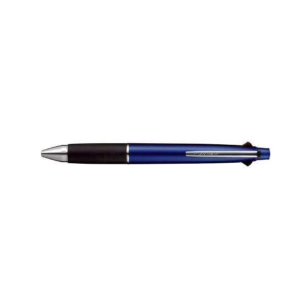 三菱鉛筆 ジェットストリーム4&1 ネイビー インク色:黒・赤・青・緑+シャープ MSXE5100038−9