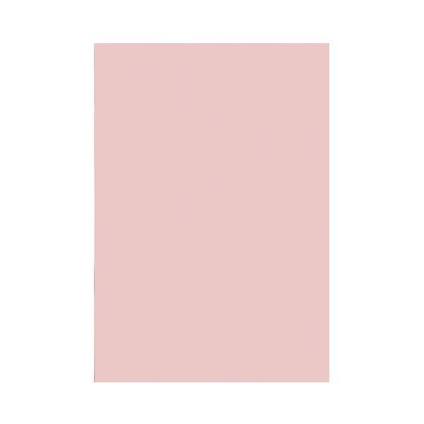 スマートバリュー 色画用紙 4ツ切10枚 うすもも P144J−17 ●10パックセット