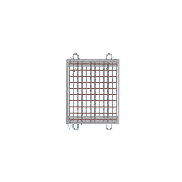 (株)中部コーポレーション110°開閉式桝蓋VG5M32-44(400×400)T-2