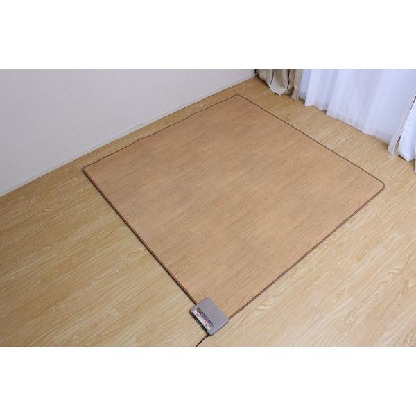 木目調ホットカーペット 2畳 THT-2000|shimizunet004|04