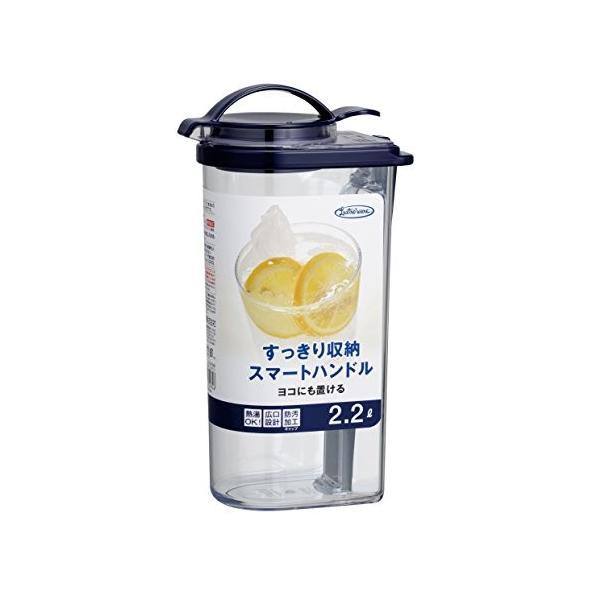 岩崎 冷水筒 ブルー 2.2L タテヨコ・ハンドルピッチャー ネクスト K-1297NB shimizunet004 02