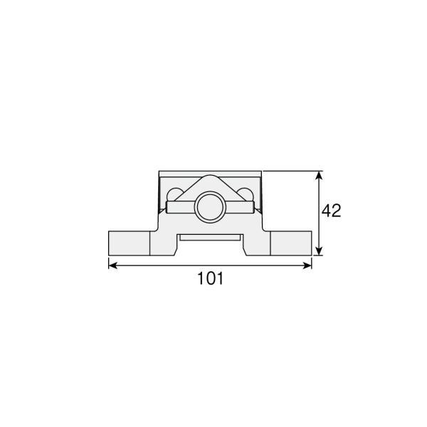 ホーザン(HOZAN) マシンバイス 万力 穴開け加工時の保持用バイス 口幅:50mm 最大口開幅:30mm 口高さ:25mm K-26|shimizunet004|04